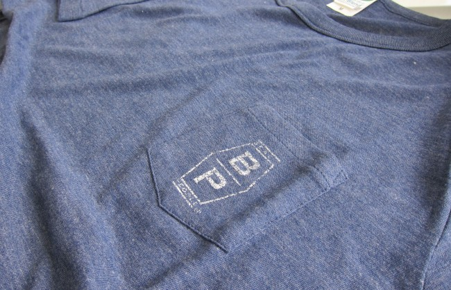 B.P ORIGINAL T BL Pocket Logo F
