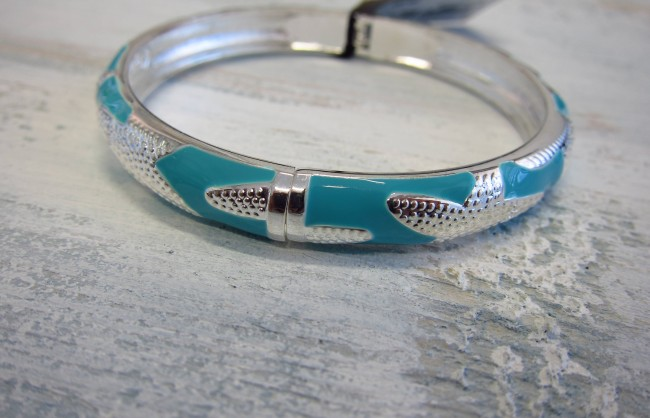 COASTRAL BANGLE BLUE STARFISH