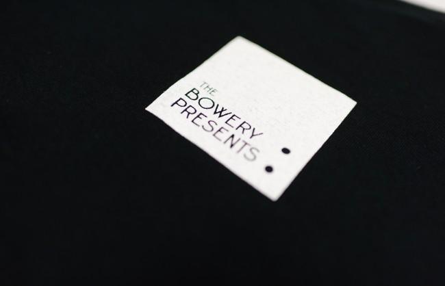 The bowry ballroom オリジナルTシャツ 黒